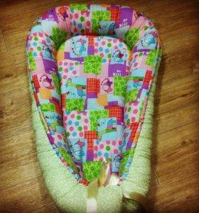 Кокон-гнездо для малыша