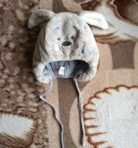 Шапка зимняя детская