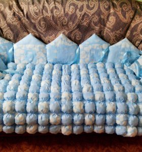 Одеяло и бортики