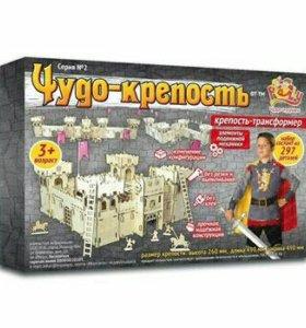 Конструктор крепость + рыцари (новый)