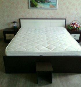 Кровать+2 тумбы можно по отдельности