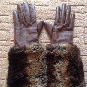 Перчатки(нат кожа)