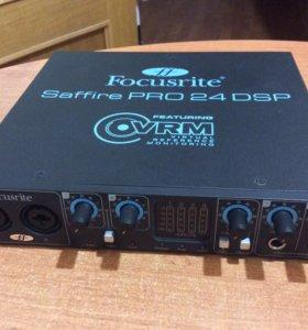 Звуковая карта Focusrite Saffire Pro 24 Dsp f/w