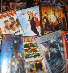 DVD, Диски, кассеты