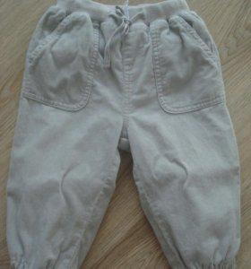 Вельветовые брюки/штаны унисекс