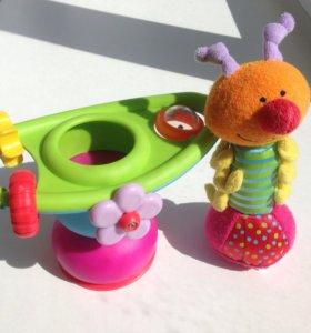 Развивающая игрушка taf toys как новая