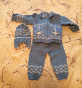 Тёплые костюмчики для малыша