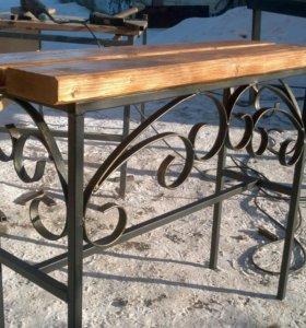Лавочки столы