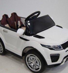 Детский электромобиль с пультом Range Rover О007OO