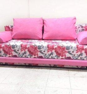 00052 новый евро диван без боковин от фабрики