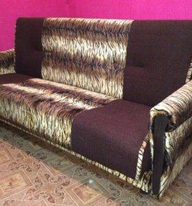 00056 новый диван книжка вильвет люкс от фабрики