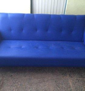 00057 новый диван книжка кожа от фабрики