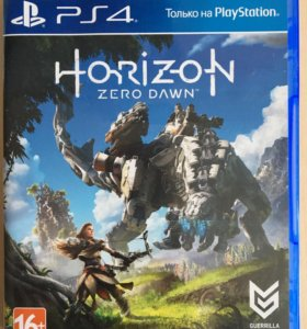 """Игра на PS4 """"Horizon zero dawn"""""""