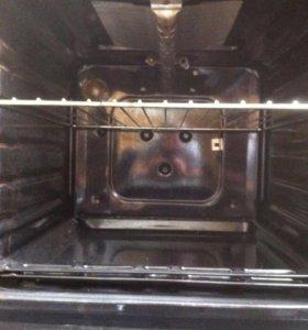 Плита газовая indezit с грилем