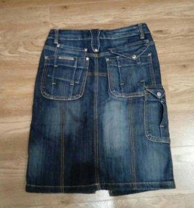 Юбка джинсовая 29