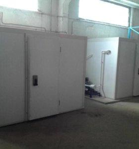 Холодильные камеры для хранения продуктов питания