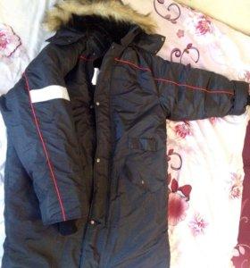 Зимняя,очень тёплая куртка-пальто!!!
