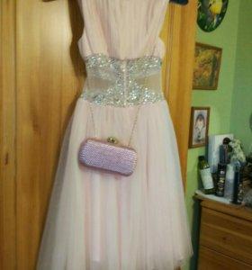 Платье вечернее+сумочка