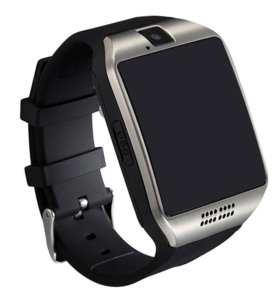 Bluetooth smart часы q18 серебро новые