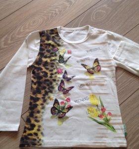 Новая футболка с длинным рукавом