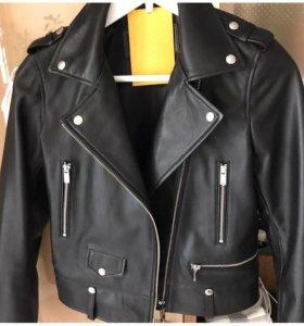 Куртка косуха натуральная кожа