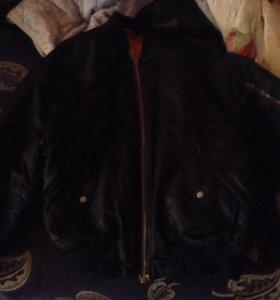 "Куртка-двухсторонняя ""бомбер"""