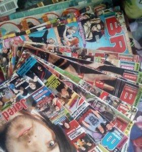 Журналы где-то 50 шт
