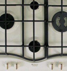 Встраиваемая газовая панель Hotpoin Ariston