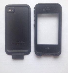 Чехол противоударный LlfeProof для iPhone 4/4s