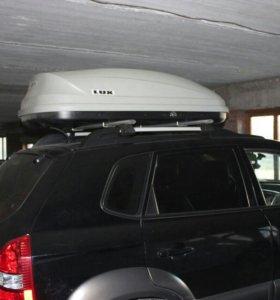 Бокс на крышу авто, аренда