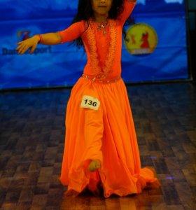 Платье для восточного танца