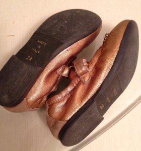 Туфли для девочки, 24 размер