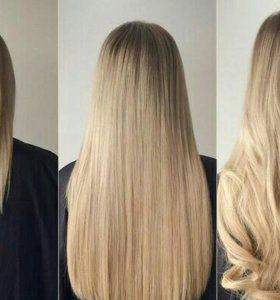 наращивание и снятие волос