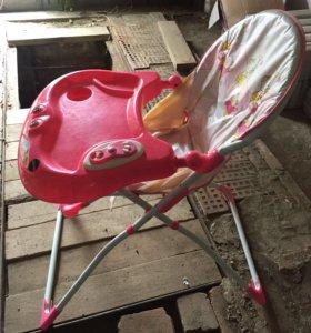 Детский стульчик с музыкой