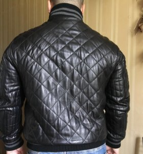 Кожаная куртка Alessandro Manzoni