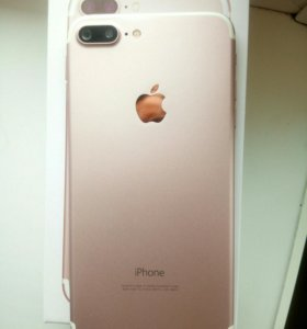 iPhone 7+ rosegold