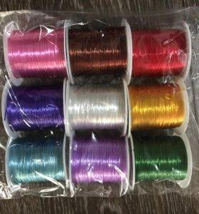 Набор цветных резиновых шнуров
