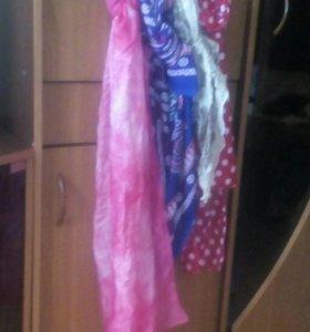 Женские шарфики шефоновые