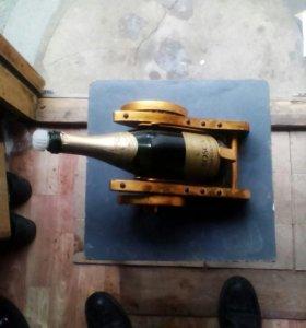 Лафет подставка для шампанского