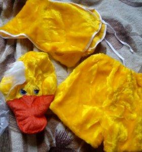 Карнавальный костюм уточки, цыпленка