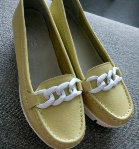 Туфли кожаные 38 размер