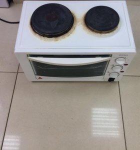 Электроплита с духовкой.