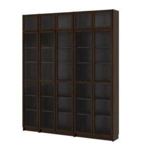 Книжные шкафы (7шт), библиотека, БИЛЛИ (Икея) б/у