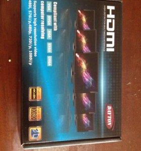 HDMI-VGA+R/L