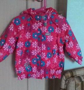 Куртка на девочку фирменная reima
