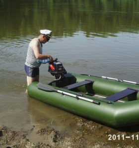 Лодка пвх с мотором TOHATSU