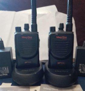 Рации Motorola MP 300 (2 штуки)