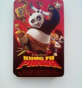 "Карточки ""Кунг фу панда"""