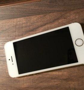 iPhone 5s на 16gb золото