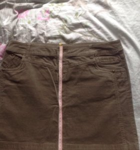 Новая вельветовая юбка